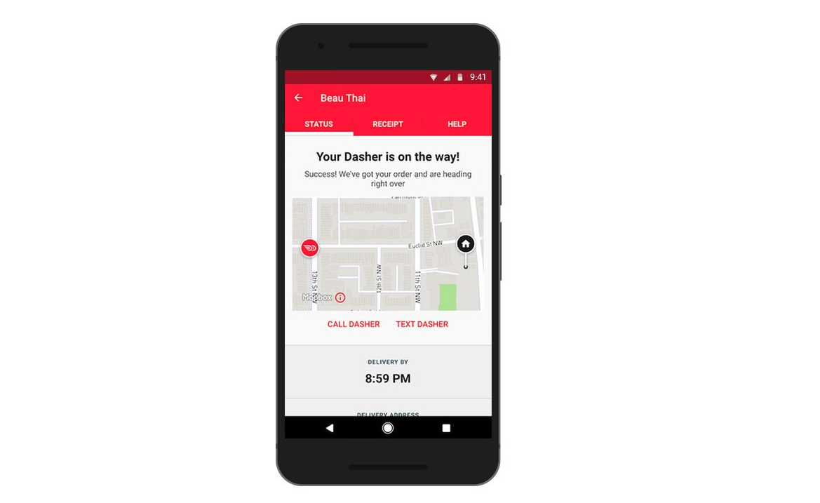 DoorDash's new maps - Points of interest