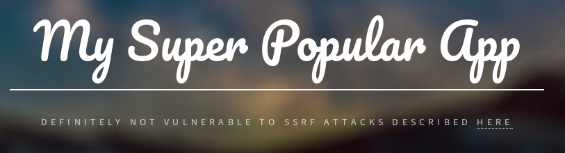 Server-Side Request Forgery (SSRF) Attacks - Part 1: The basics