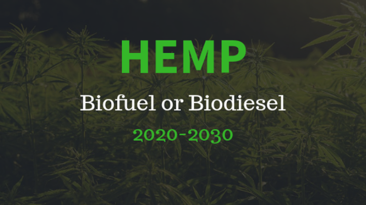 Hemp Biofuel: No Green New Deal Without It - DarbyHemp - Medium