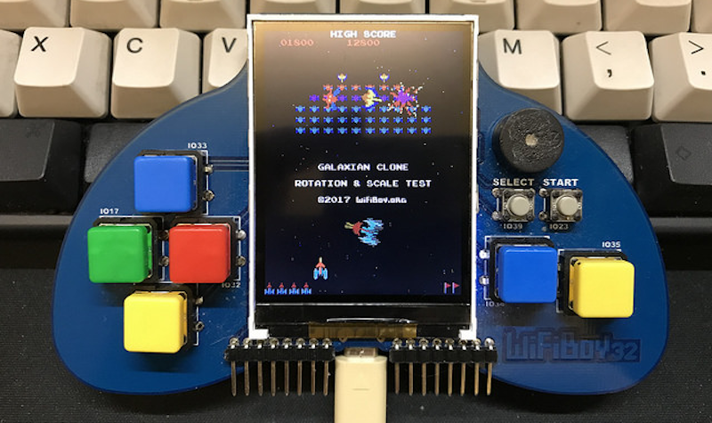 WiFiBoy32: An ESP32-Based IoT Dev Kit and Portable Game Console