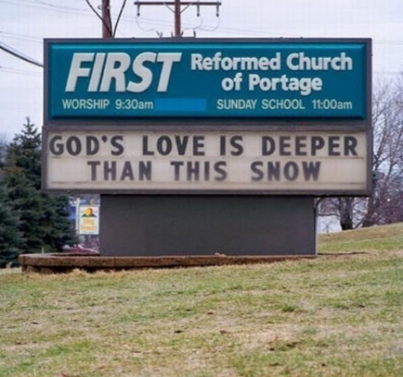 10 Funny Signs Proving God Has A Sense of Humor - Jamie