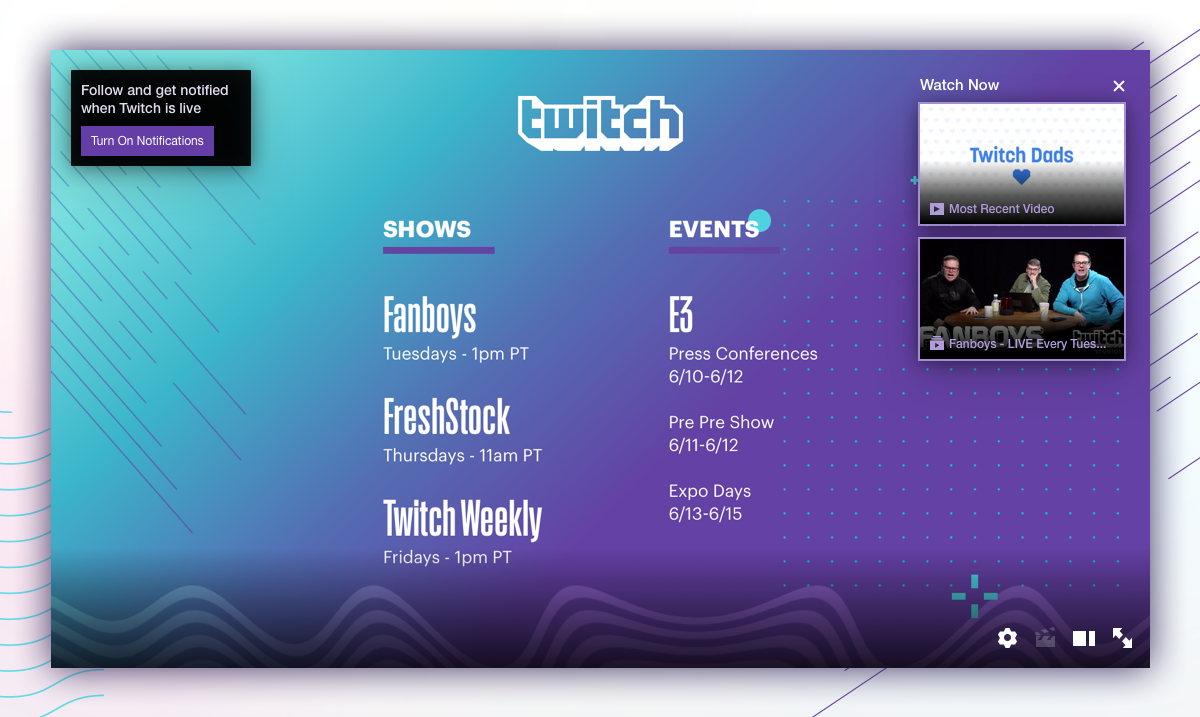 Put your channel page to work while you're away - Twitch Blog