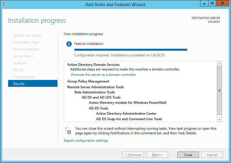 Installing and Configuring a RODC in Windows Server 2012