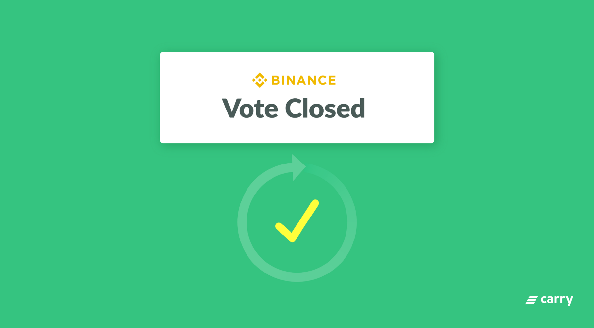 CRE Binance Community Coin Vote Result/Airdrop Announcement