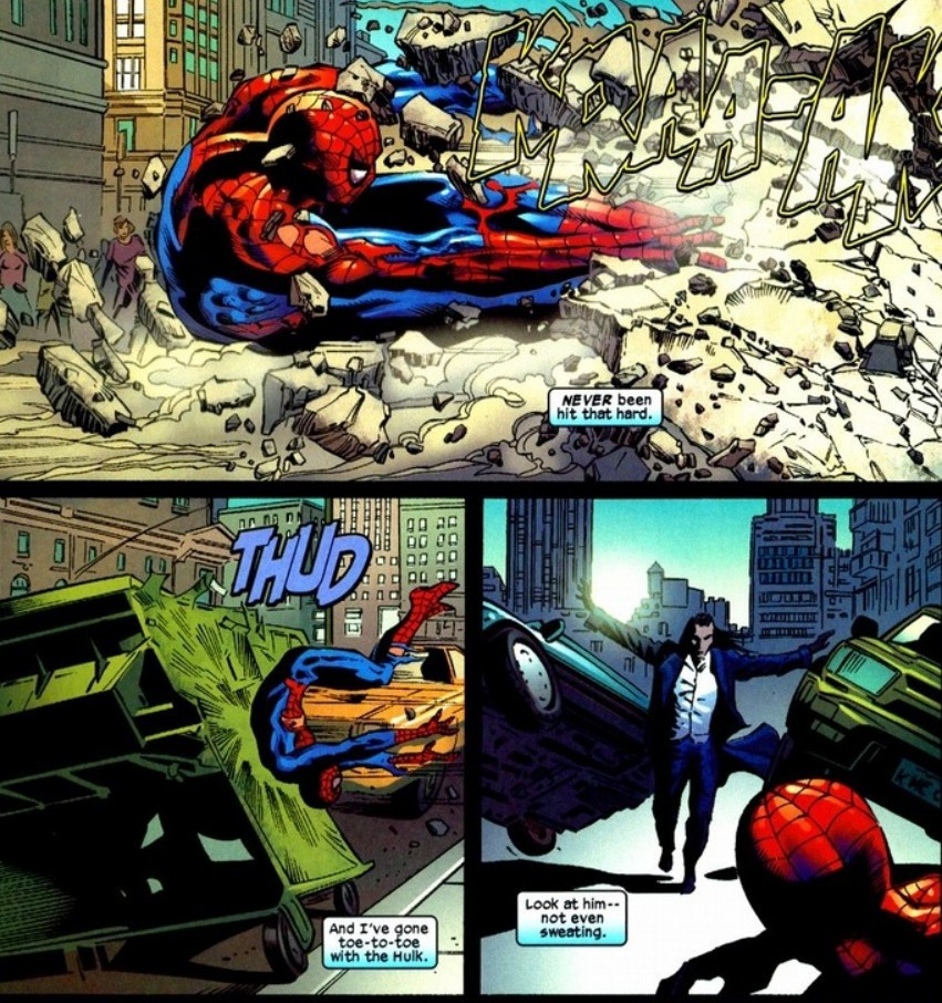 Does Spider-Man have superhuman healing abilities, like