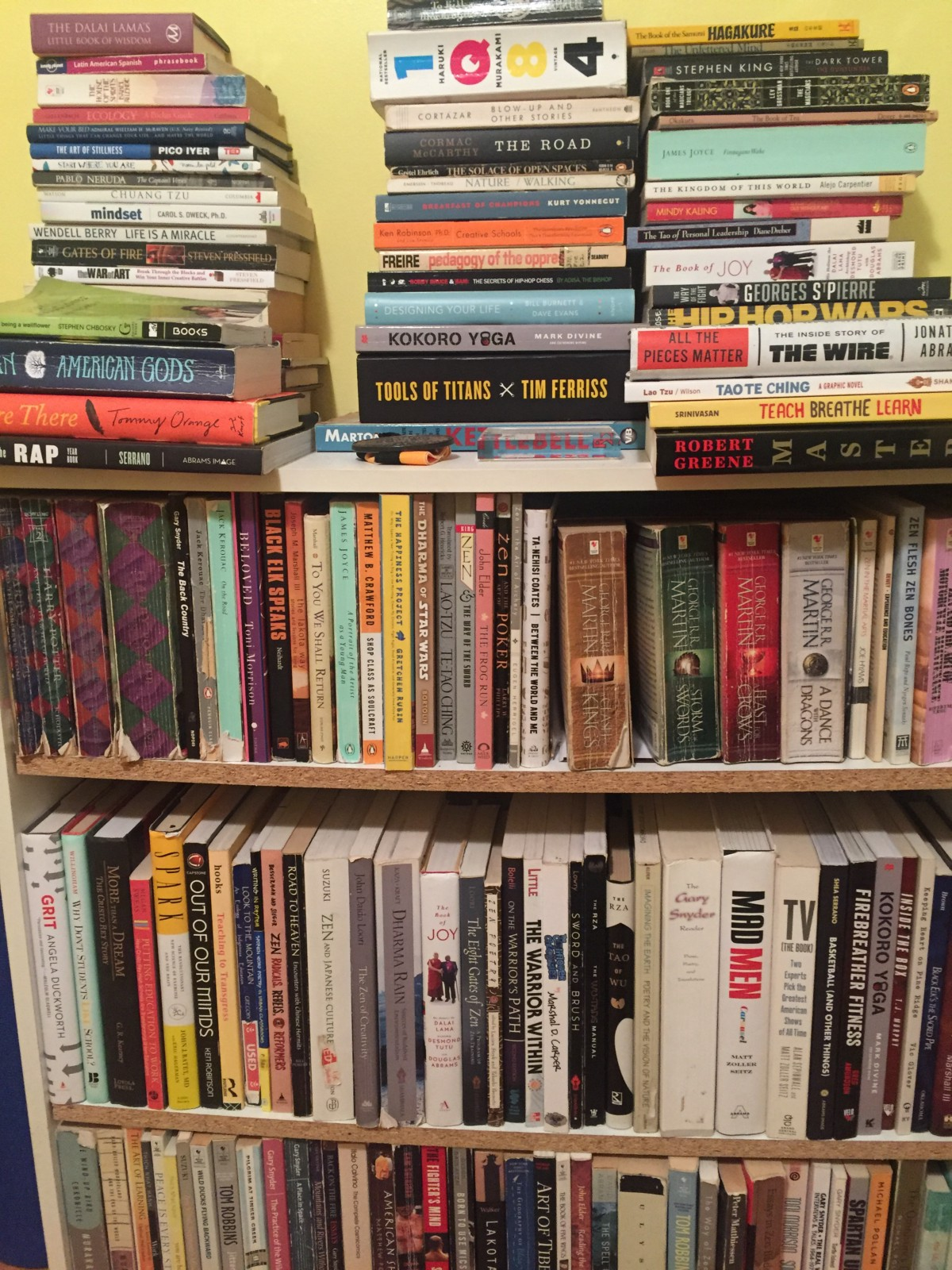 2018: Books, Films, TV, Music, Podcasts, and Languages