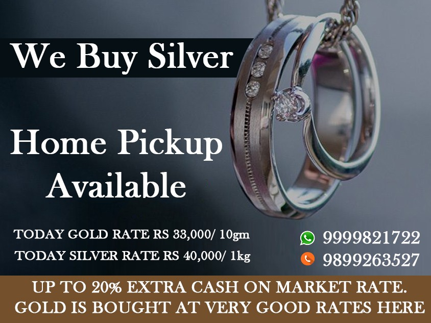Sell Silver Jewellery near Me - Cash For Gold - Medium