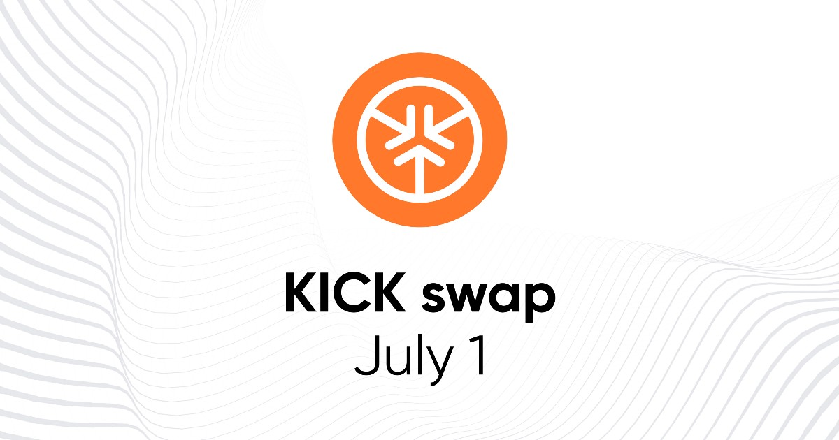 All you need to know about the swap of the KICK v8 token and its burning process