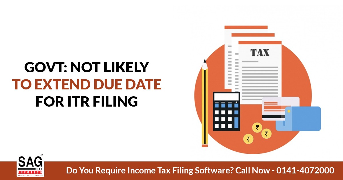 No Specific Proposal To Extend Itr Filing Due Date Fy 2018 19