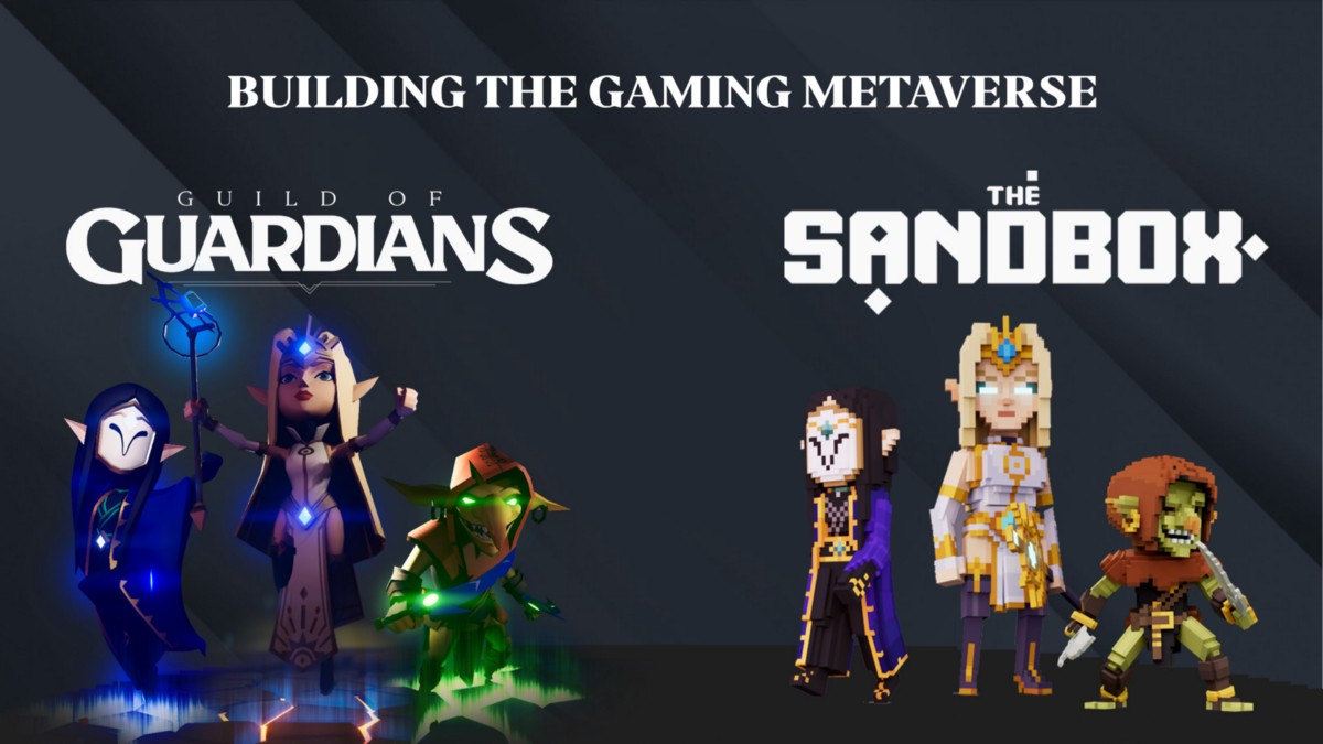 Guild of Guardians and The Sandbox partner to bring the metaverse to gaming NFTs
