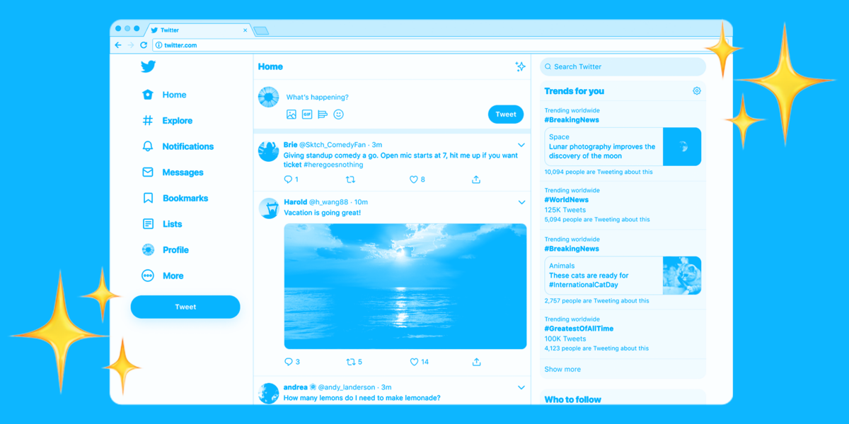 Techmeme: Twitter's redesign, which rebuilt the desktop website as a