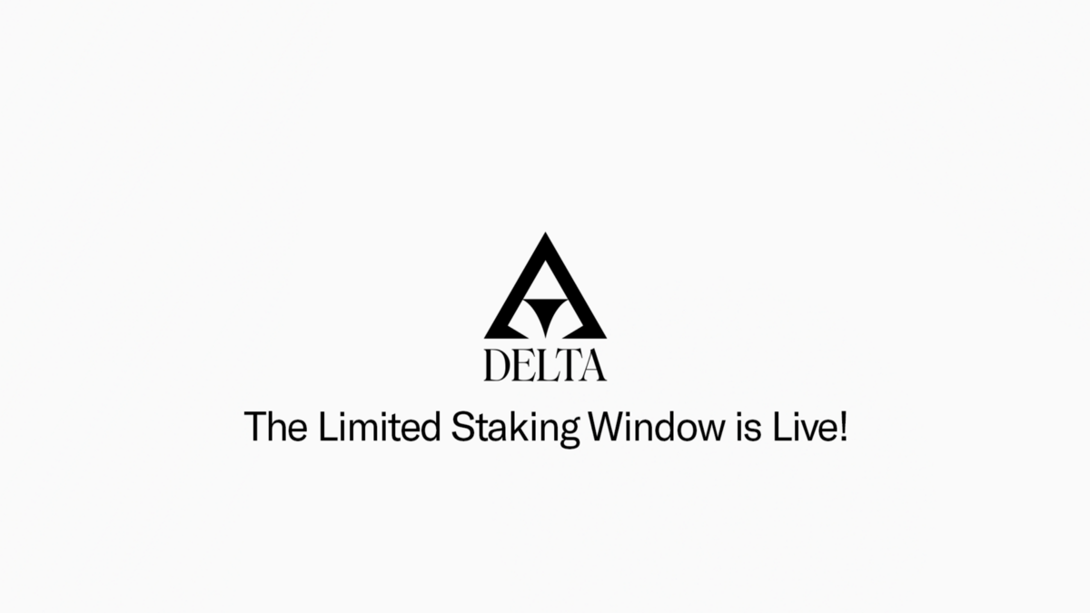 The Limited Staking Window is Live!