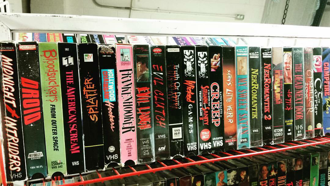 The Horrifying World Of Vhs Collectors Jacob Waite Medium