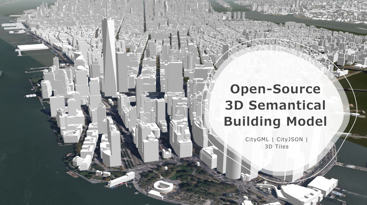Open-Source 3D Semantical Building Models in 2020