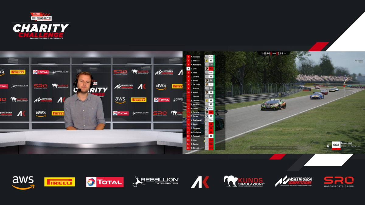 Video Transport helps remotely produce esports racing events