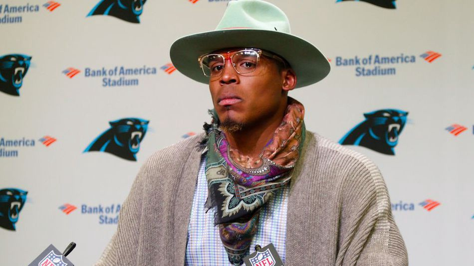 release date 22f83 14193 Cam Newton listed as Doubtful for Week 15 because he's ...