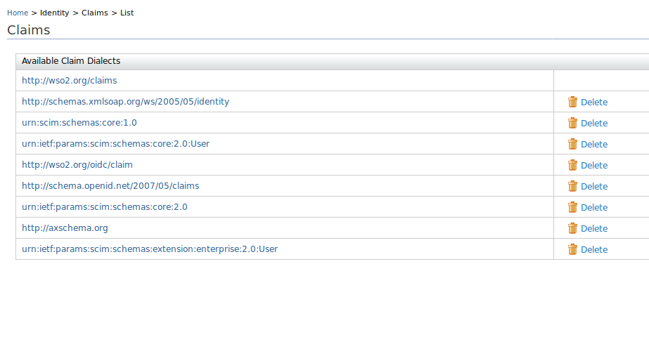 Claim mapping and retrieving end-user information in WSO2IS