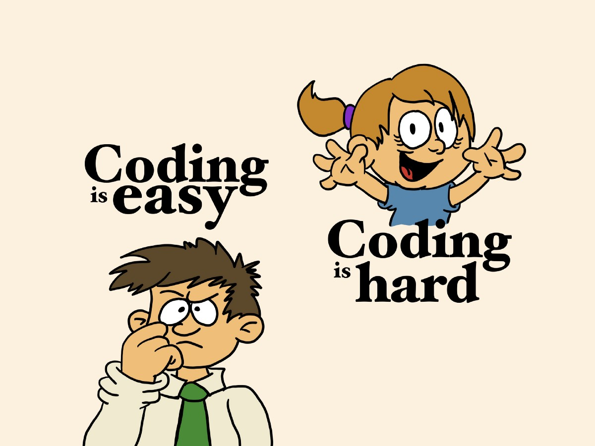 How can writing code be so easy and so hard at the same time?