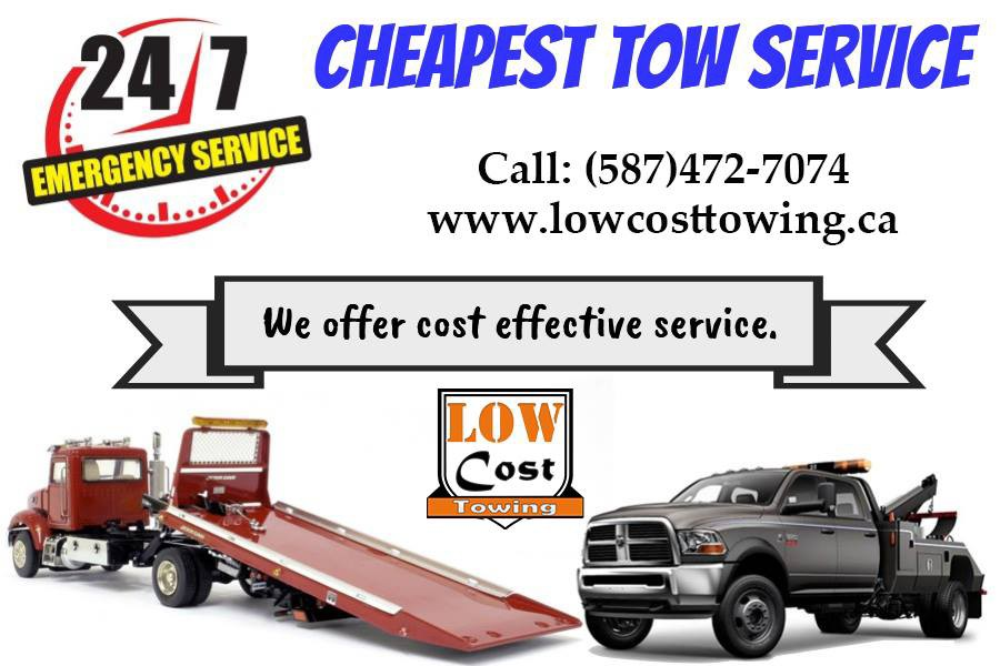 Towing Service Cost >> Best Low Cost Towing Services Calgary Low Cost Towing