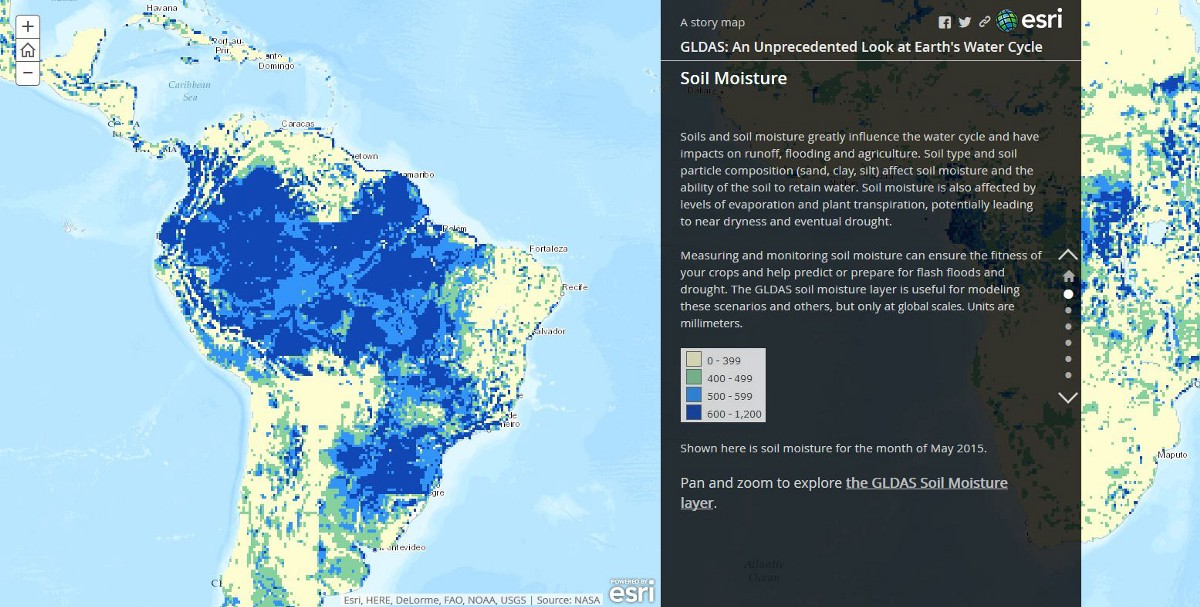 Eight Maps for World Water Day