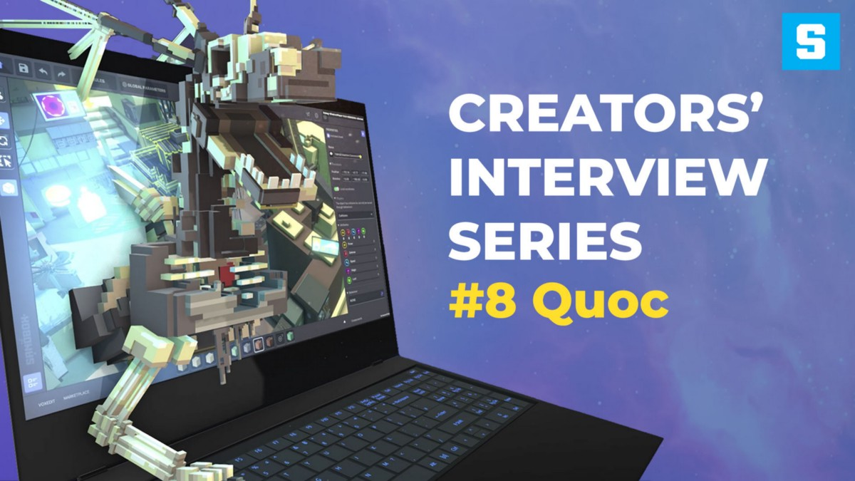 From individual creator to creating the MyReality gaming studio—Creators Interview #8: Quoc