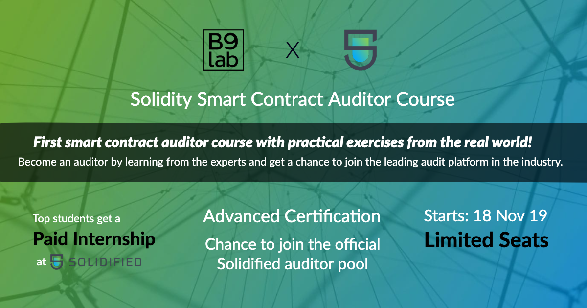Smart Contract Auditor Course Solidified Medium