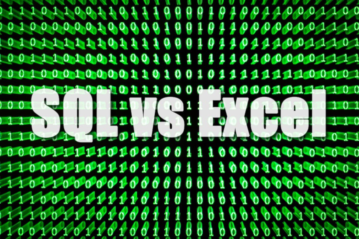We Have Excel, Who Needs SQL?