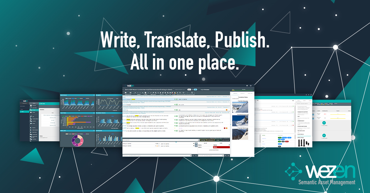 Wezen, the SaaS platform to centralize your copywriting and