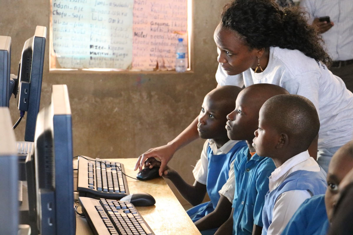 Rural Kenya, The USA and Elevating the Classroom Experience