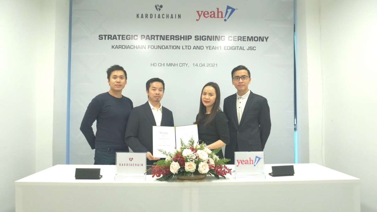 KardiaChain join hands with Yeah1 to build a whole new entertainment platform with value for…