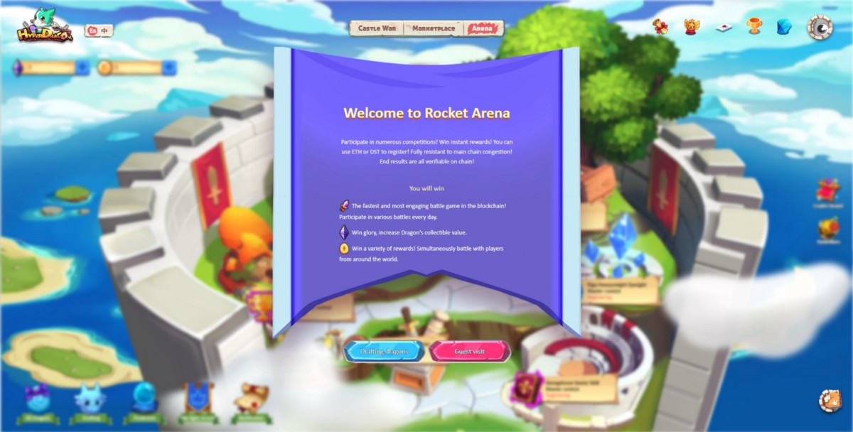 """The epoch-making """"Rocket Arena"""" officially launches!"""