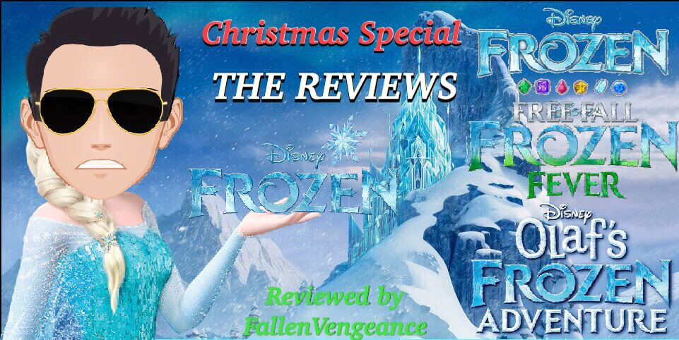 Frozen Christmas Special.The Reviews Episode 25 Frozen Movie Short Films Mobile