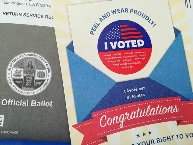 My Voter's Guide for Democrats in LA County — Midterm