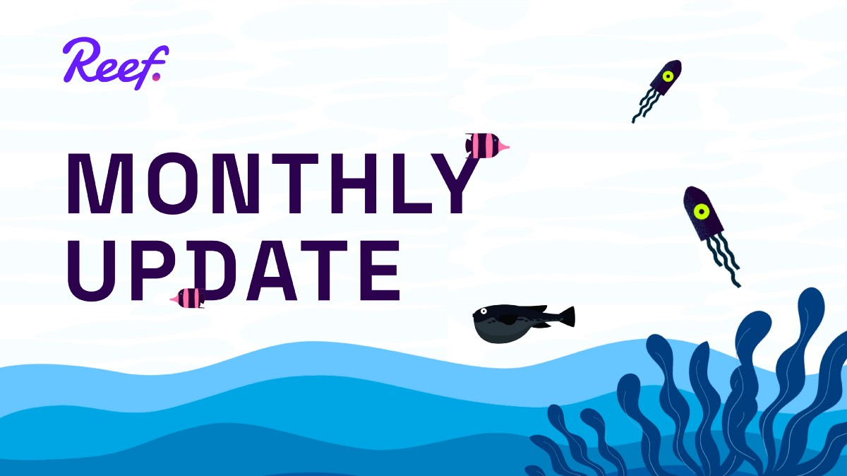 Reef Monthly Update May 2021