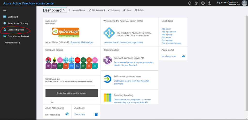 Office 365: How to add a guest user from the new Azure AD Portal!