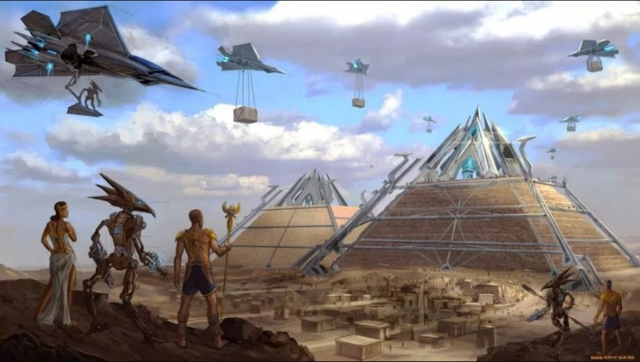 Old manuscripts confirm that RA was an Extraterrestrial God of Egypt