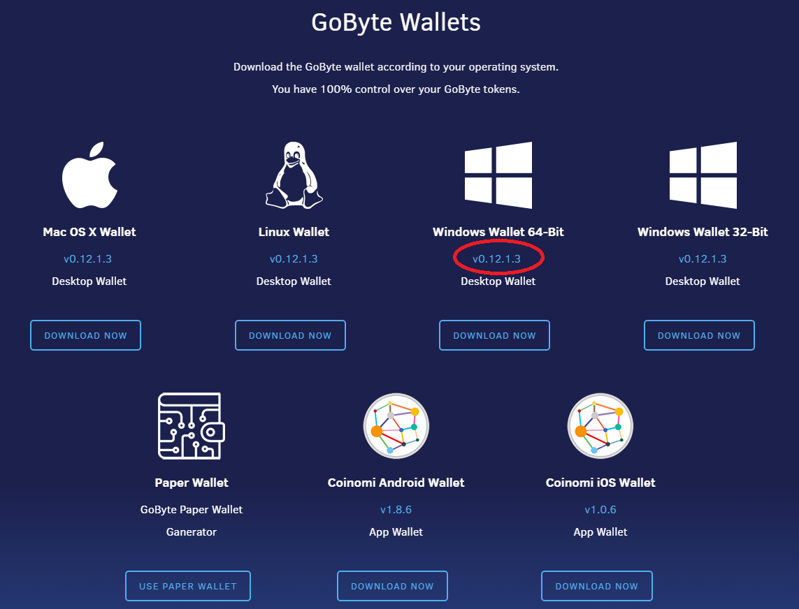 Guide]How to restore an old or backed up wallet - GoByteNetwork - Medium