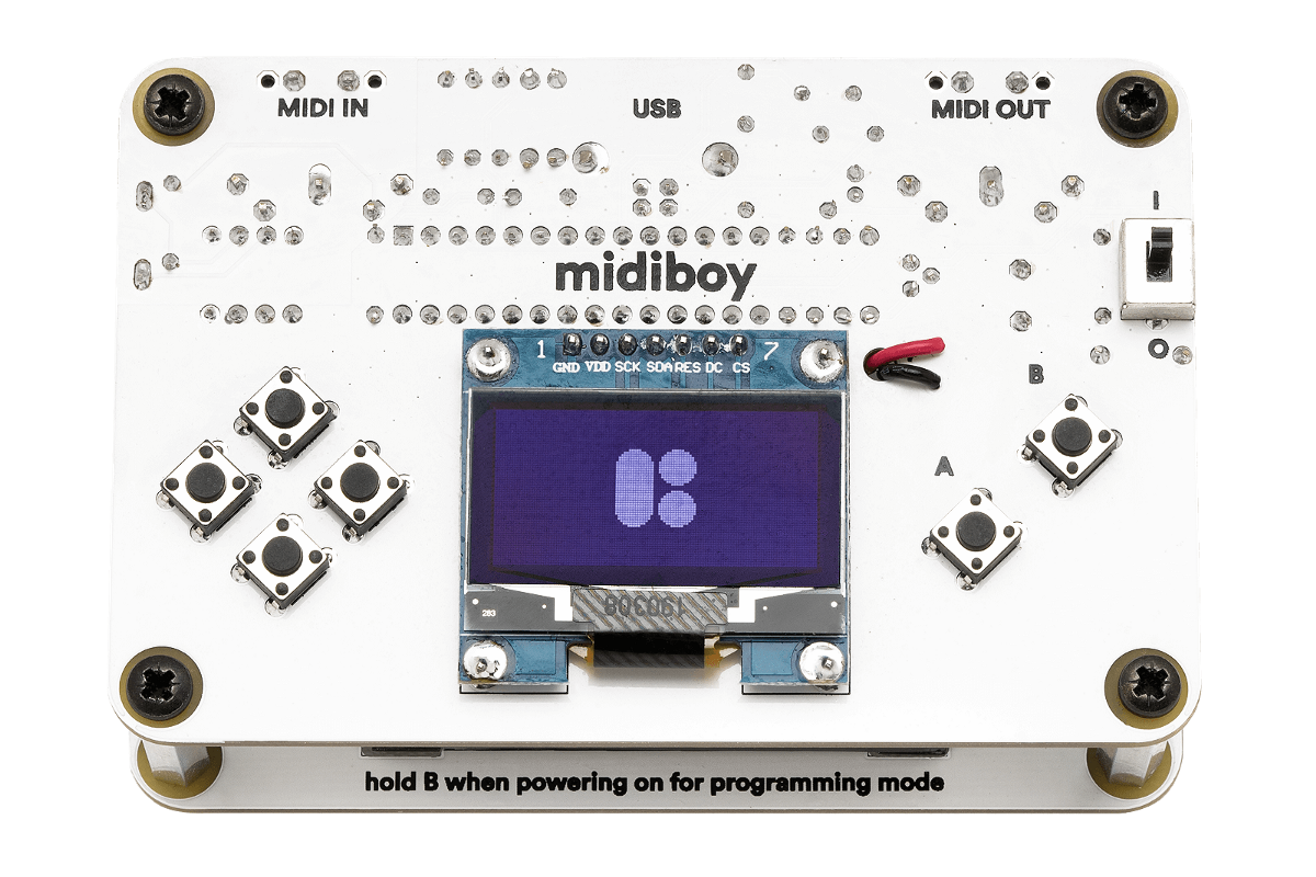 Midiboy Plays Games, Acts as MIDI Device - Hackster Blog