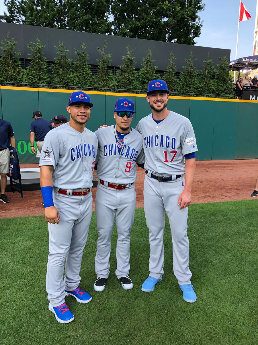 buy popular e726b 13ff6 How the Chicago Cubs' players fared in the 2019 MLB All-Star ...