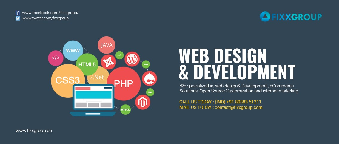 Web Design And Development Company In Bangalore-INDIA