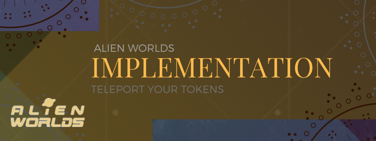Trilium's cross blockchain character—the teleport and technical implementation