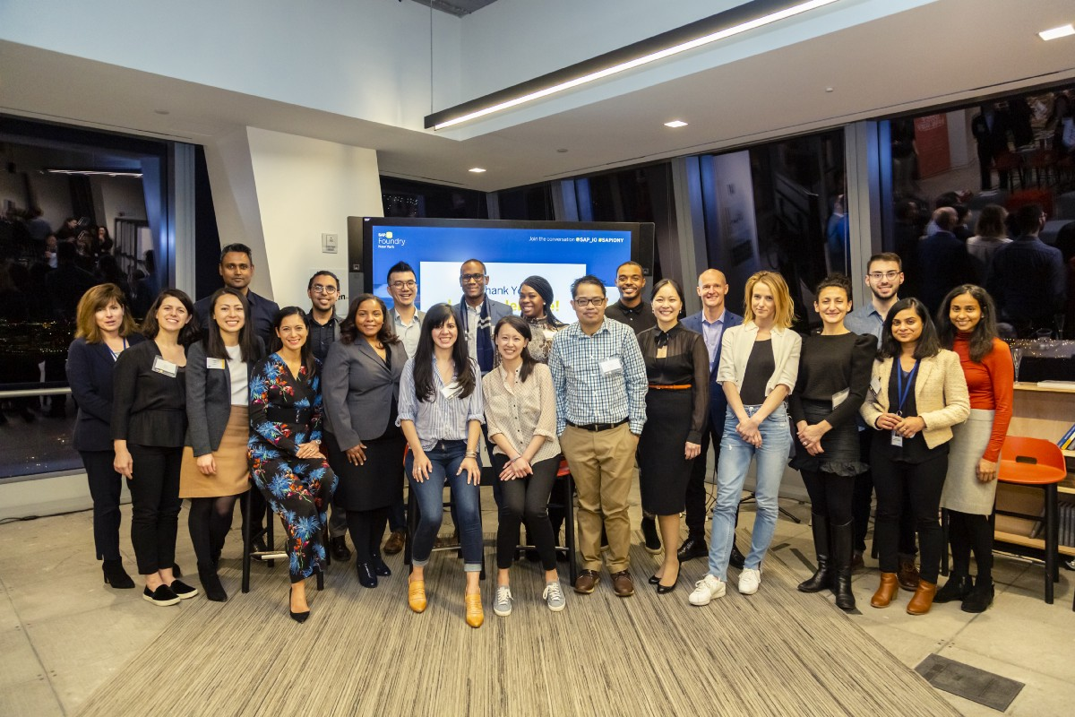 Announcing the SAP iO Foundry NY Winter 2019 Cohort of