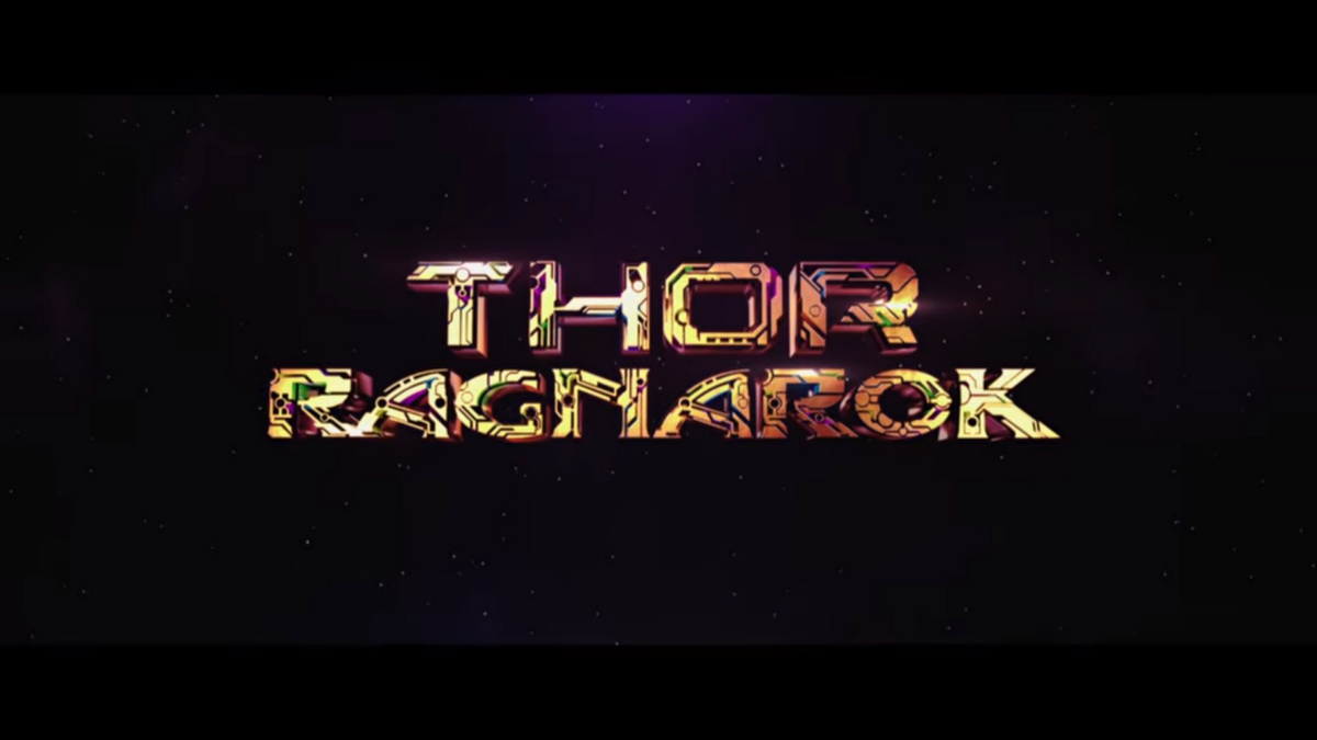 The Amazing End Title Sequence Of Thor Ragnarok By Niall Knows Medium