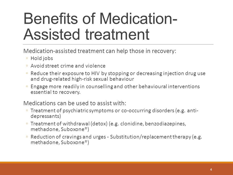 Buprenorphine — Medication Assisted Treatment - Deanna