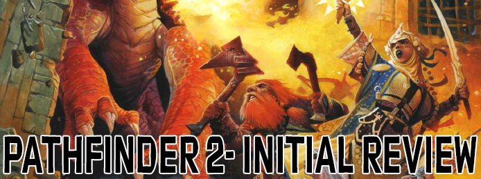 So Pathfinder Second Edition just launched and a lot of folks are