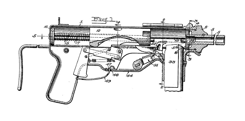 The Grease Gun Was for Killing - War Is Boring - Medium on handgun schematics and how it works, revolver schematics diagrams, shotgun schematics or diagrams,