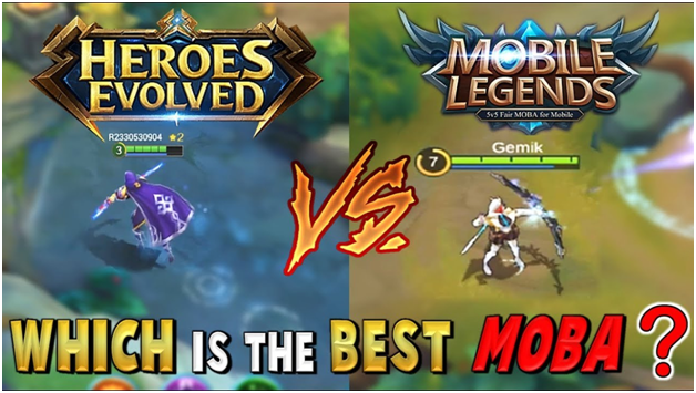 MOBILE MOBA IN THE PHILIPPINES: HEROES EVOLVED VS MOBILE LEGENDS