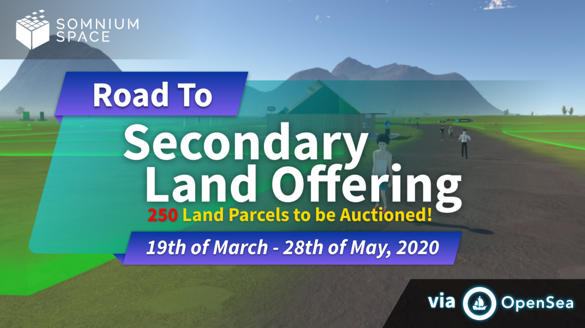 Road to Secondary Land Offering (SLO)