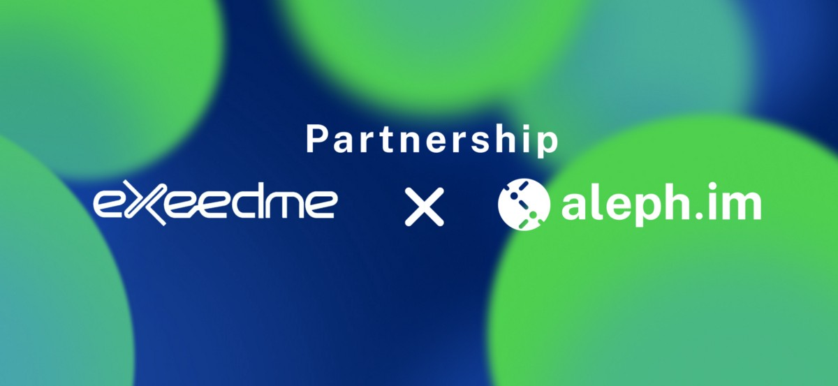Exeedme Partners With Aleph.im: Decentralized Gaming Meets Crosschain Storage