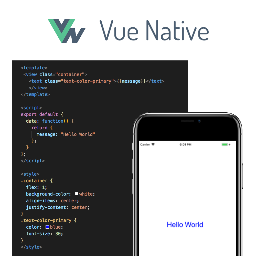 Introducing Vue Native - The GeekyAnts Blog